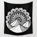 Mountain Mandala by julieerindesigns