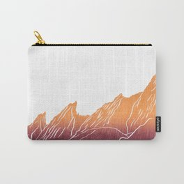 Colorado Mountain Boulder Flat Irons Carry-All Pouch