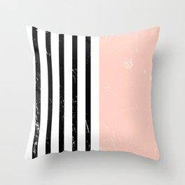 Minimalism Pattern | Blush | Millennial Pink | Modern | Geometric Throw Pillow