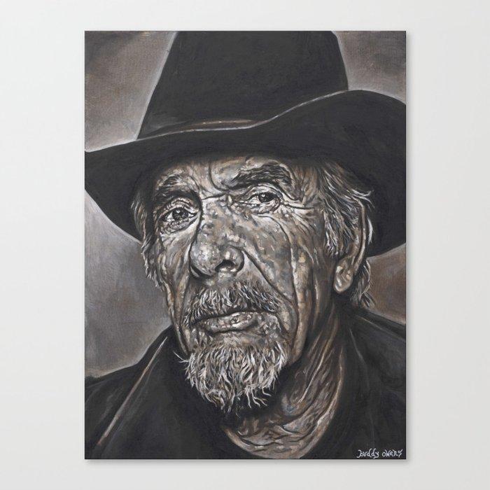 Haggard Outlaw Canvas Print