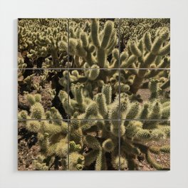 Desert Bloom Wood Wall Art