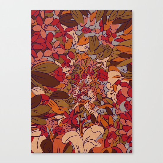 Implode Canvas Print
