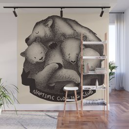 Naptime Cuddle Club Wall Mural