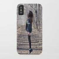 ghost iPhone & iPod Cases featuring Ghost by Valerie Bee
