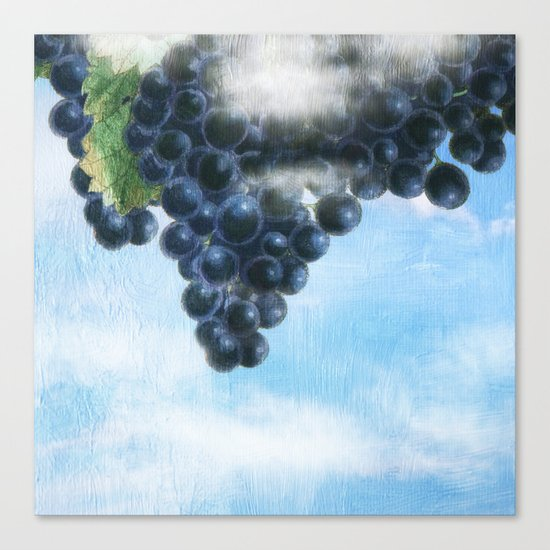 Grapes' Heaven Canvas Print
