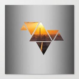 Triangles 3 Canvas Print