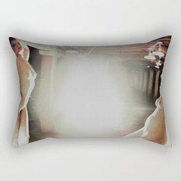 Dirt and Glitter Rectangular Pillow