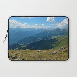 panorama on adventure park hög alps serfaus fiss ladis tyrol austria europe Laptop Sleeve