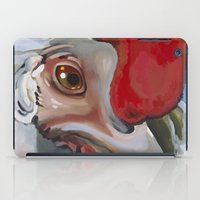 chicken iPad Cases featuring Chicken by Jeanne Hollington