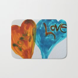 Love duo | Duo d'amour Bath Mat