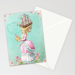 Marie Antoinette Liberté Stationery Cards