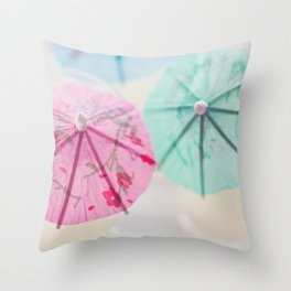 Vacation Colors Throw Pillow