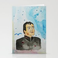 crowley Stationery Cards featuring supernatural crowley by meldemirci