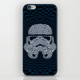 Storm and radiation iPhone Skin