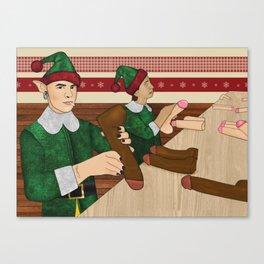 The Naughty List Canvas Print