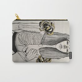 Mourning Lingerie Carry-All Pouch