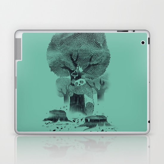 The Tree Hugger Laptop & iPad Skin