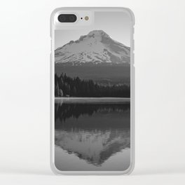 Mountain Moments Clear iPhone Case
