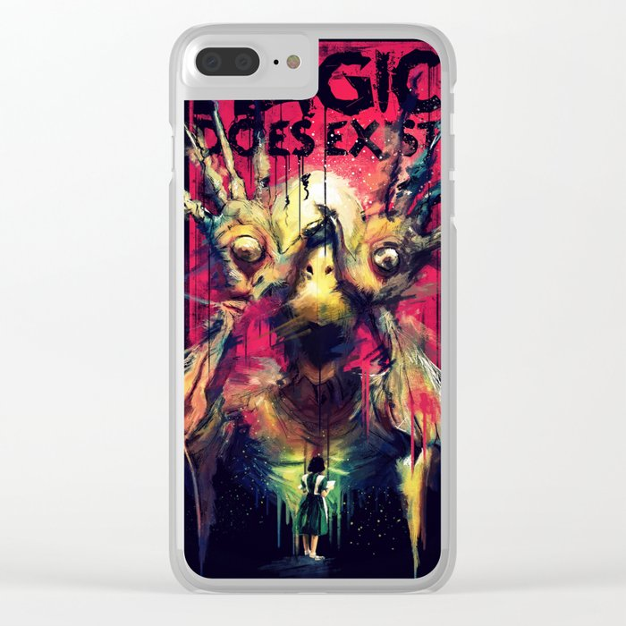 Pan's Labyrinth (Pale Man) Clear iPhone Case
