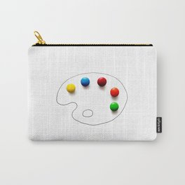 Artist's chocolate Carry-All Pouch