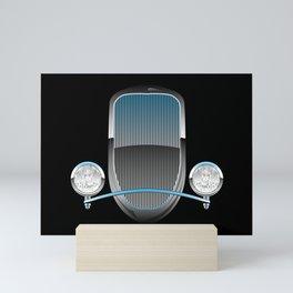 1930s Style Street Rod Car Grill Mini Art Print