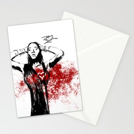 Red Dress Stationery Cards