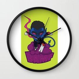 Ze Incredible Nightcrawler Wall Clock