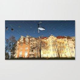 Reflector Swan III - Inverse Canvas Print
