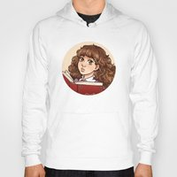 hermione Hoodies featuring Young Hermione by Kata (koomalaama)