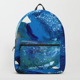 Environmental Blue Leaves, Tiny World Collection Backpack