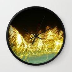 Galloping Neon Wall Clock