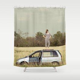 Urban Safari Shower Curtain