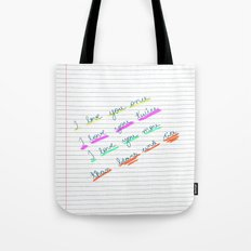 Love 01 Tote Bag