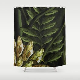 Cod Lily Shower Curtain