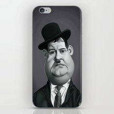 Oliver Hardy iPhone & iPod Skin