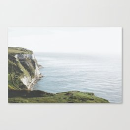 White Cliffs of Dover (full) Canvas Print