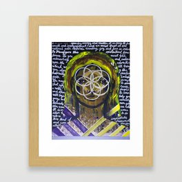 Guide Framed Art Print