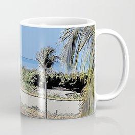 Marco Island, Florida South Seas Balcony View of Ocean Coffee Mug