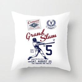 Varsity Baseball Team - Grand Slam Throw Pillow