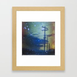 Indiana landscape series: Framed Art Print