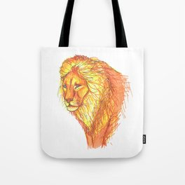 Bright Lion Tote Bag
