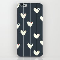 calendars iPhone & iPod Skins featuring Heart  by Shabby Studios Design & Illustrations ..