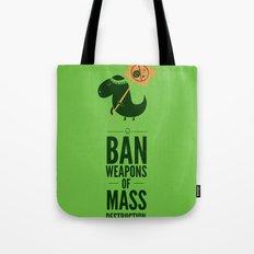 Occupy Jurassic Park Tote Bag