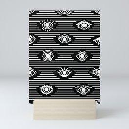 Wide Eyes Mini Art Print