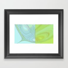 DIS-TORT Framed Art Print