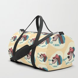 A Dollar a Minute Duffle Bag
