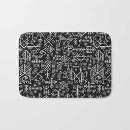 Viking Pattern | Warrior Valknut Norse Mythology Bath Mat