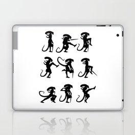 Ministry of Alien Silly Walks Laptop & iPad Skin