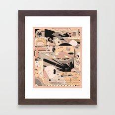 brrrommbbrr Framed Art Print