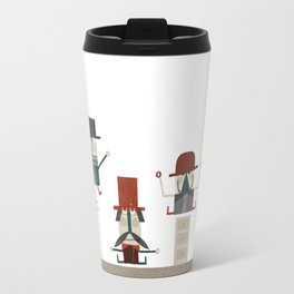 Quiet in the office Travel Mug